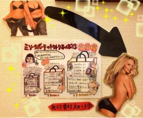 【限定】ミリーラボーテ2014ダイエット福袋