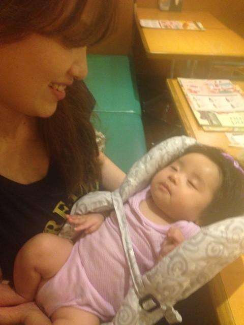 産休中のスタッフの赤ちゃん