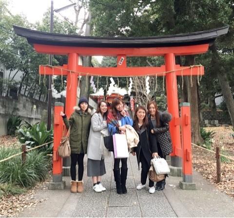 熊野神社ご祈祷&自由が丘店エステティシャンさいとうハッピーバースデー