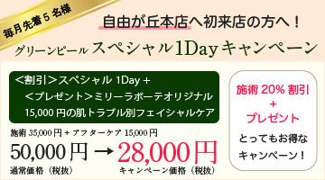 スペシャル1dayキャンペーン